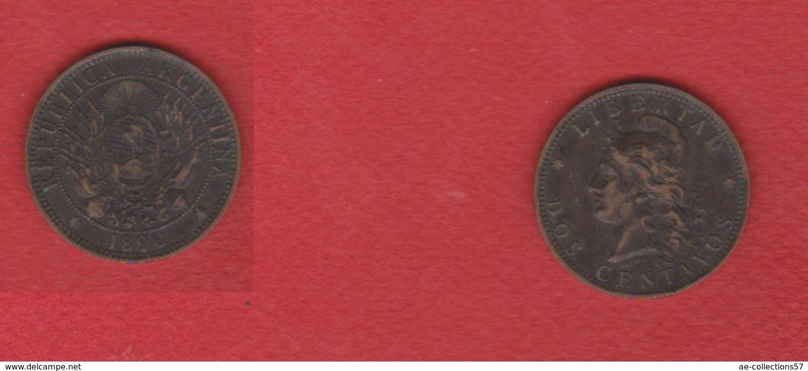 Argentine / Dos Centavos 1890 / TB+ - Argentine