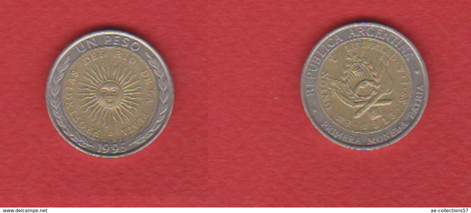 Argentine / 1 Peso 1995 / KM 112.3 / SUP - Argentine