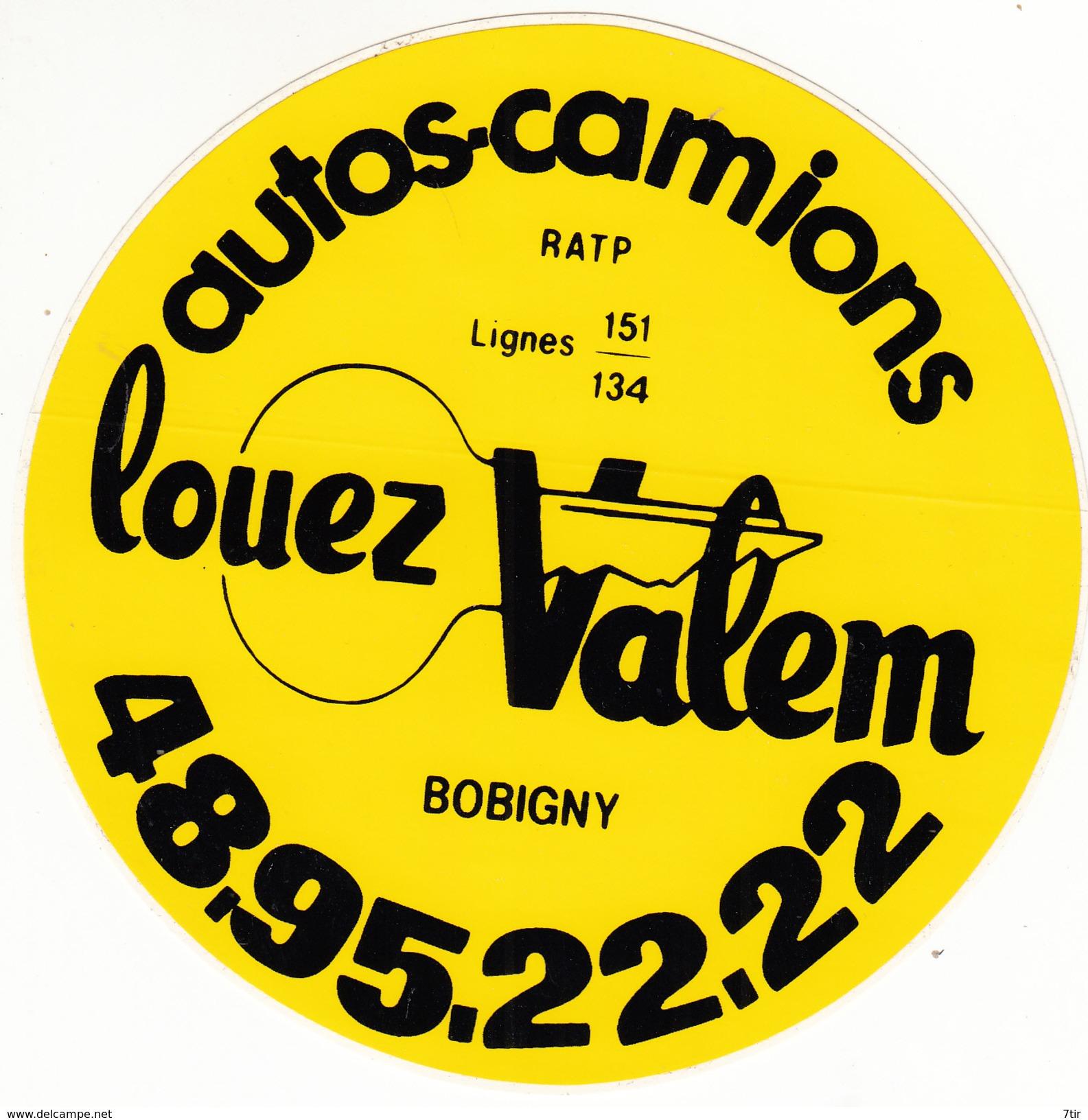 PARIS BASTILLE LOUEZ VALEM AUTOCOLANT - Autocollants
