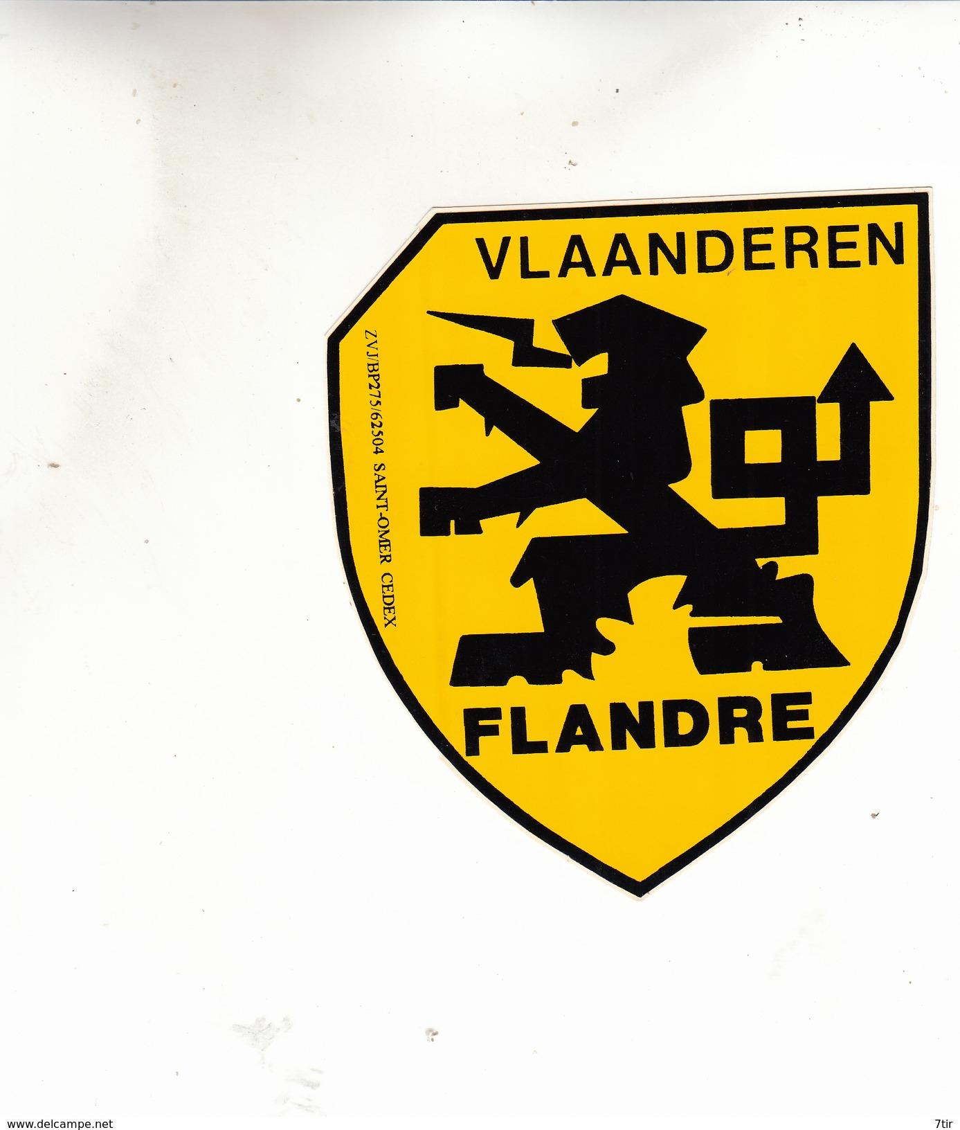 VLAANDEREN FLANDRE  AUTOCOLANT - Stickers