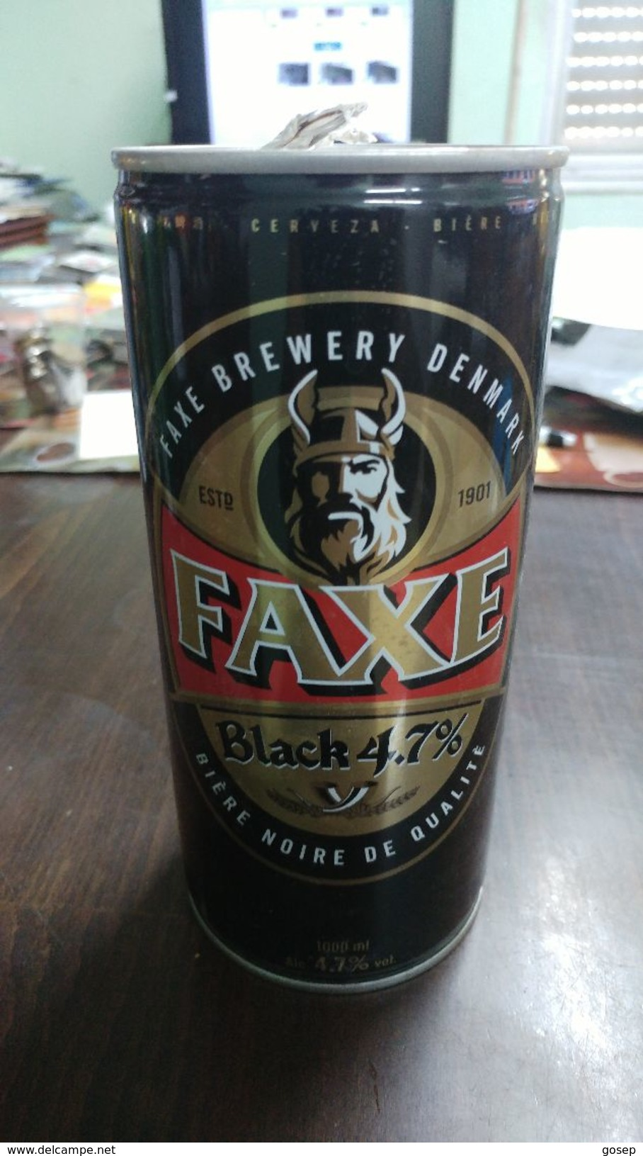 Danmark- Beer-faxe Brewery Quality Black Beer-beer Cans - Cannettes