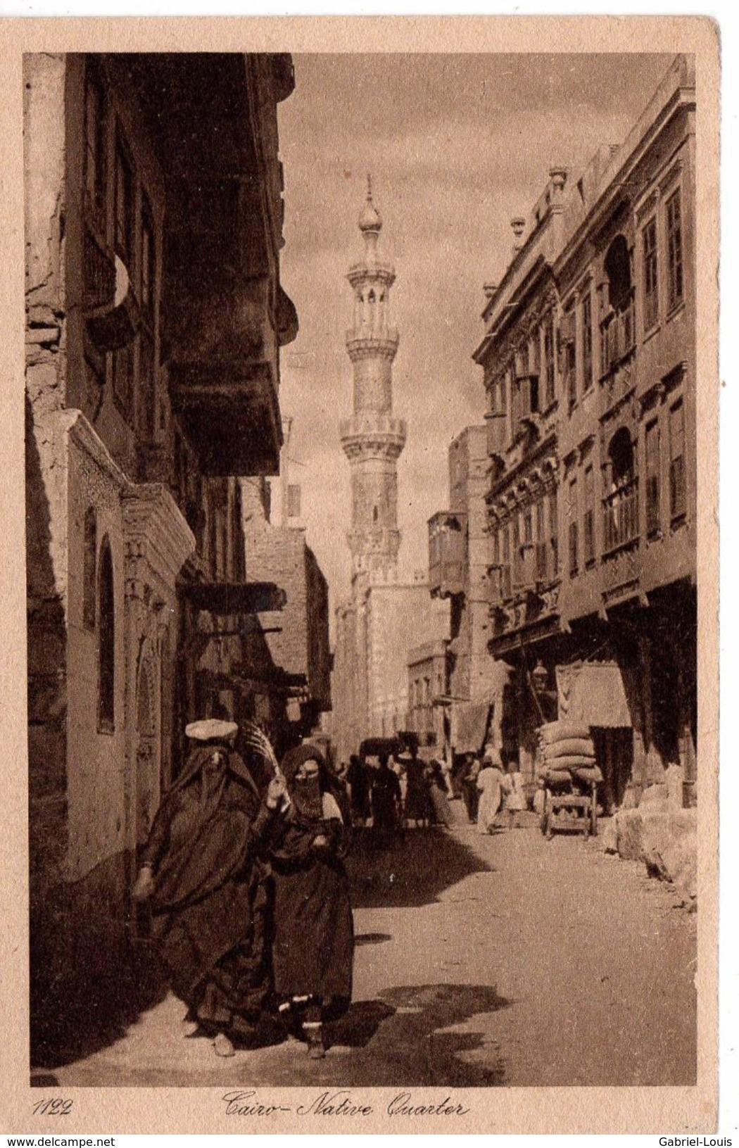 Cairo - Native Quarter - El Cairo