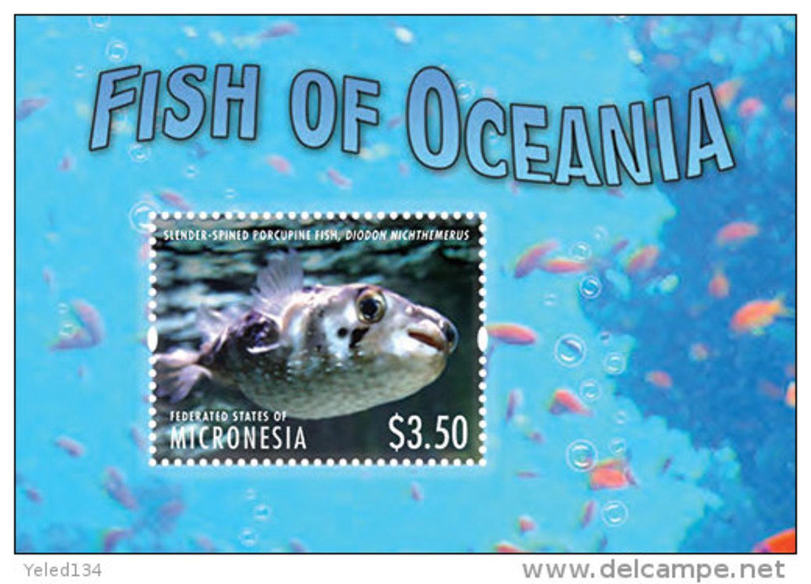 MICRONESIA  MINT N.H SCOTT # ?? ; IGPC 1314 SS  ( MARINE LIFE ; FISH - Mikronesien