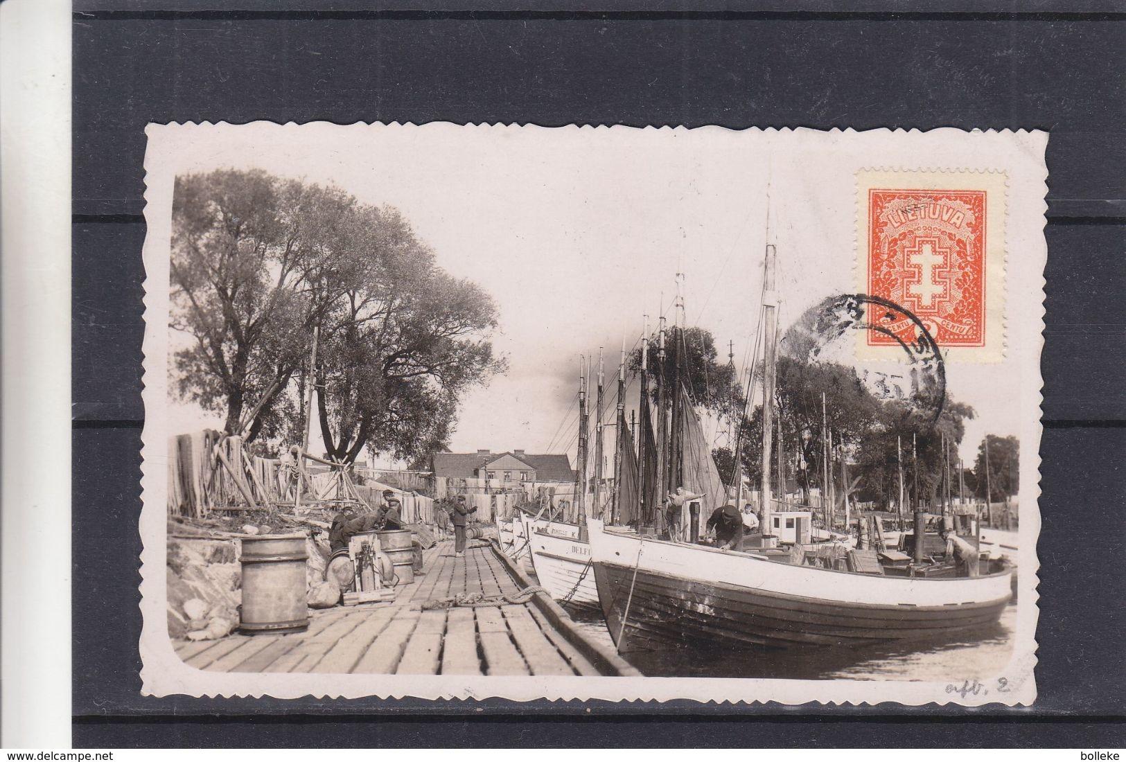 Lituanie - Carte Postale De 1935 - Oblit Kaunas - Lithuania