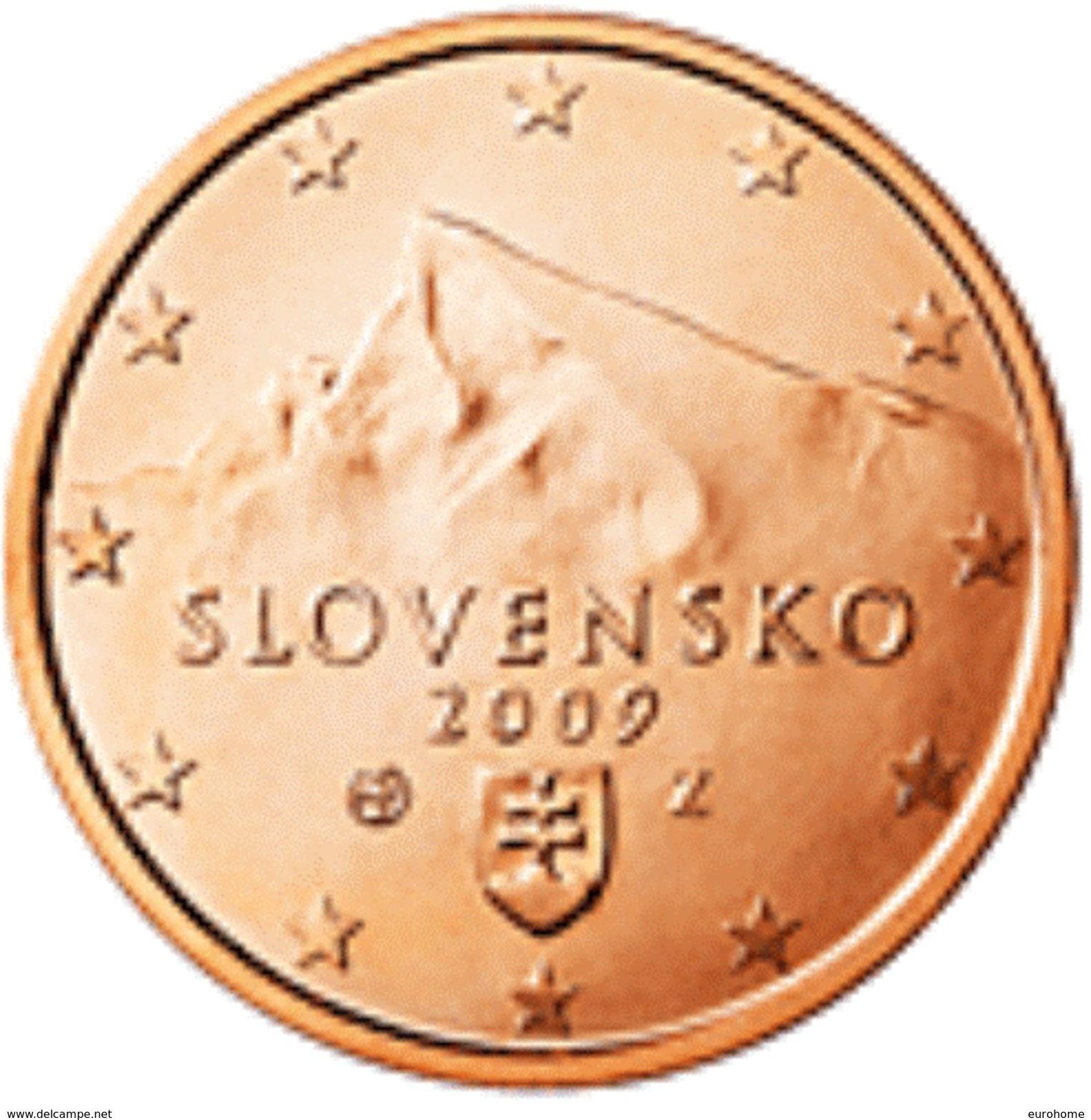 Slovakije 2017     1 Cent      UNC Uit Zakjes  UNC Du Sackets  !! - Slowakei