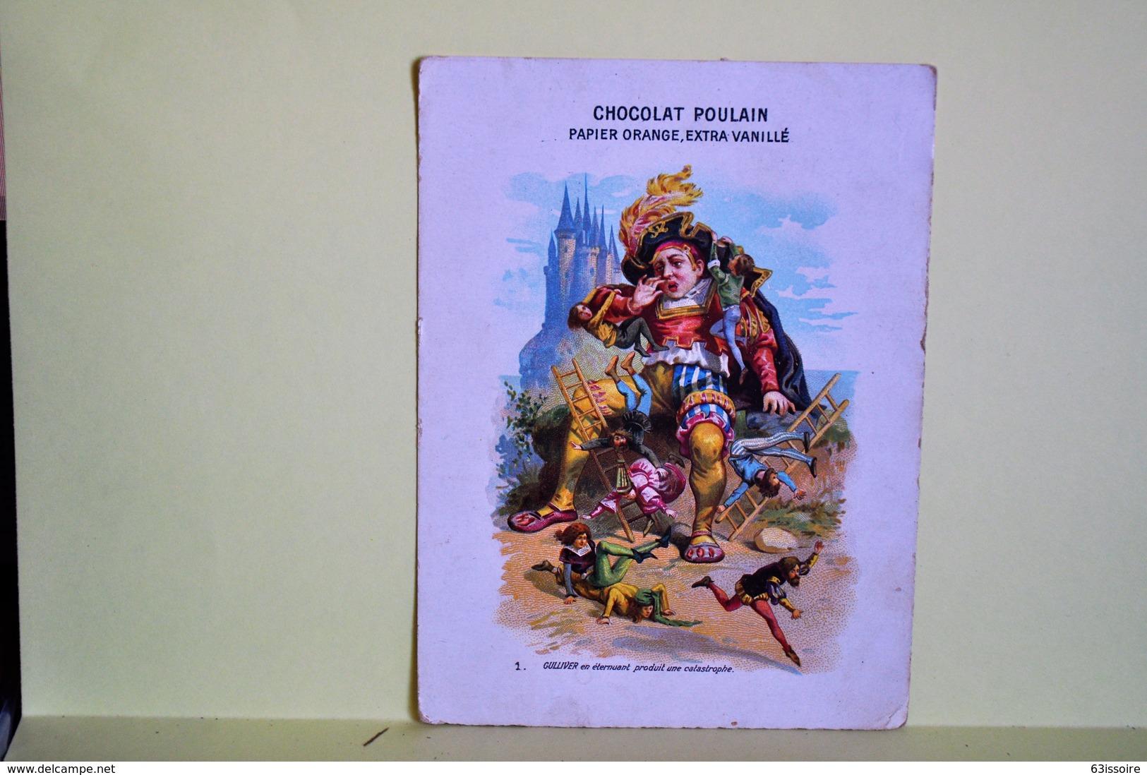 CHOCOLAT POULAIN 1 CHROMO Gulliver 1 - Poulain