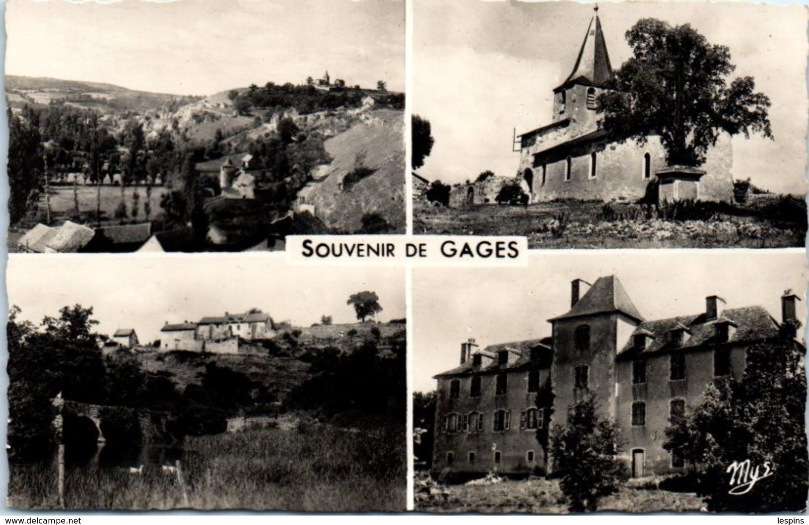 12 - GAGES --  Souvenir - France