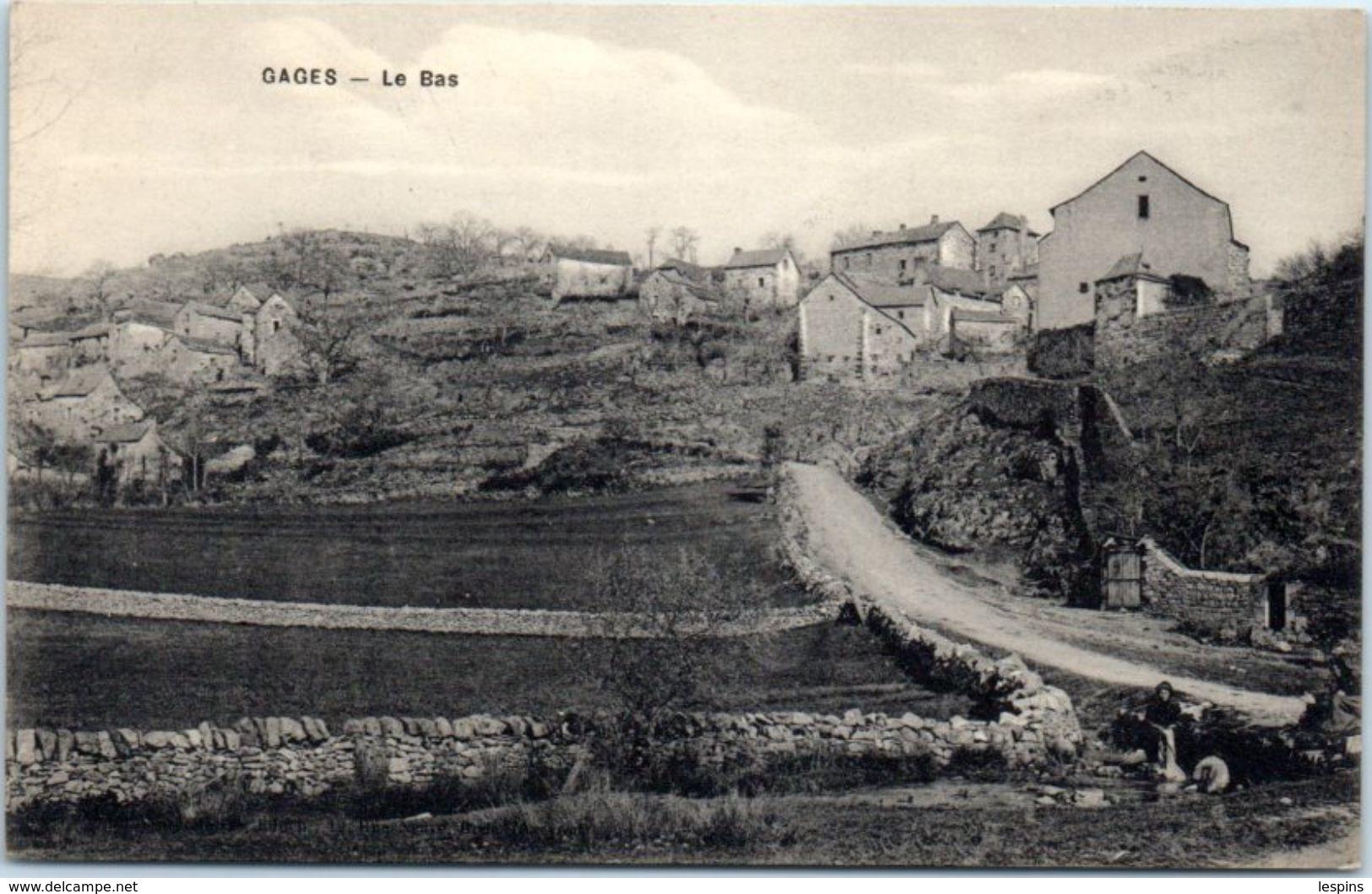 12 - GAGES --  Le Bas - France