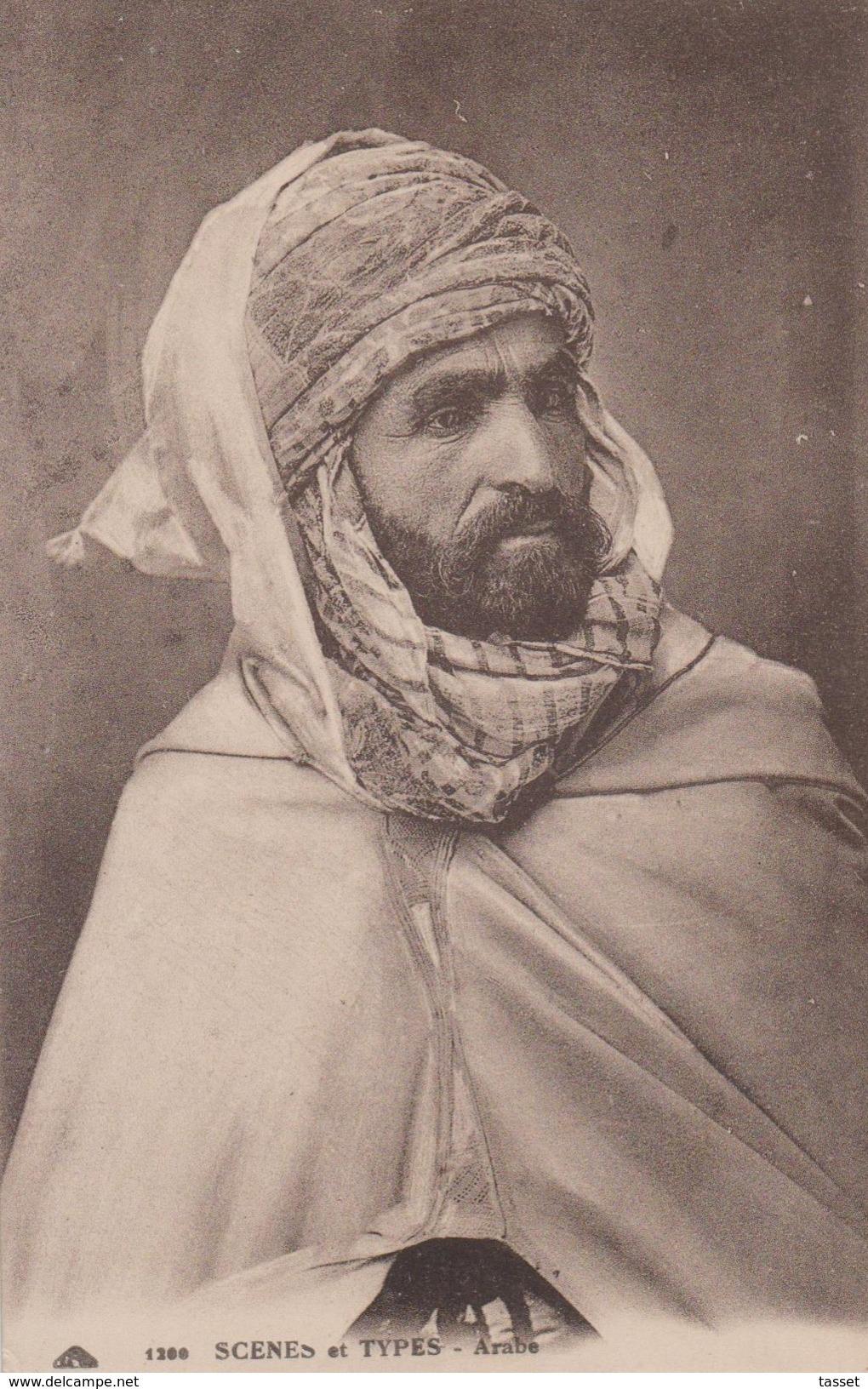 : Lot De 2 CP Arabe En Tenue + Mendiant Voir 2 SCANS - Men