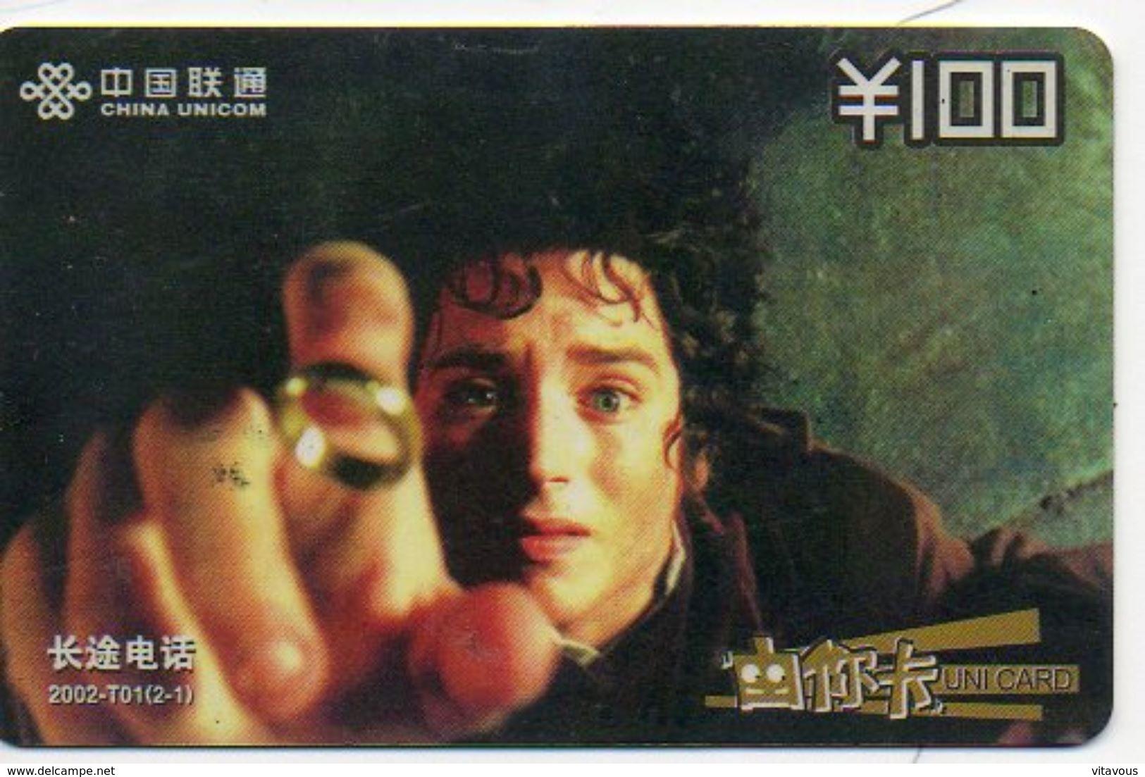 Seigneur  Des Anneaux Film Movie Cinéma  Seigneurs Télécarte Phonecard (S.332) - Cinéma