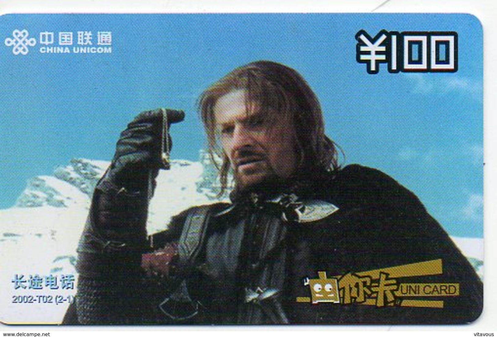 Seigneur  Des Anneaux Film Movie Cinéma  Seigneurs Cheval Horse  Télécarte Phonecard (S.336) - Chine