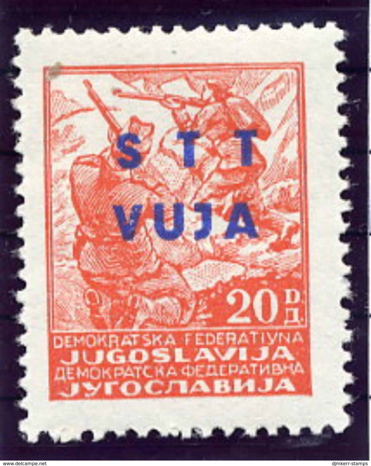 TRIESTE ZONE B 1949 Partisan Definitive 20 D. MNH / **,  Michel  21 - 7. Trieste