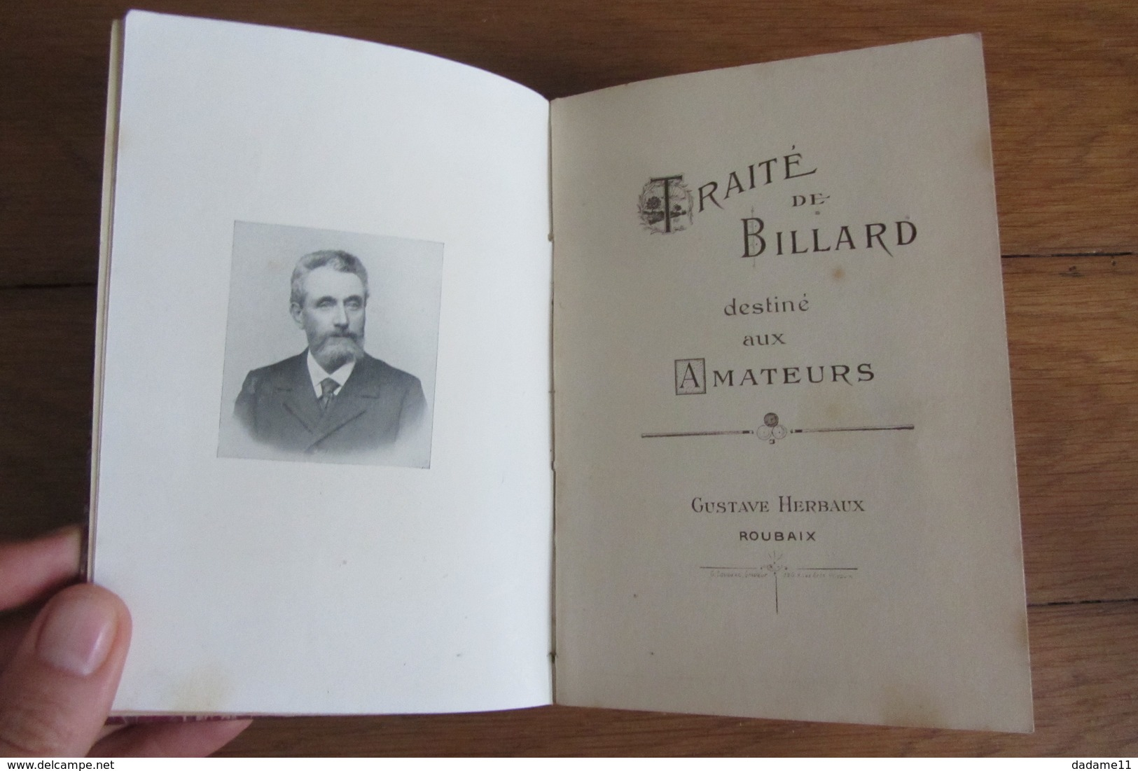 Rare Livre S Couleur Sur Le Billard Français Couleur 148 Pages - Livres, BD, Revues