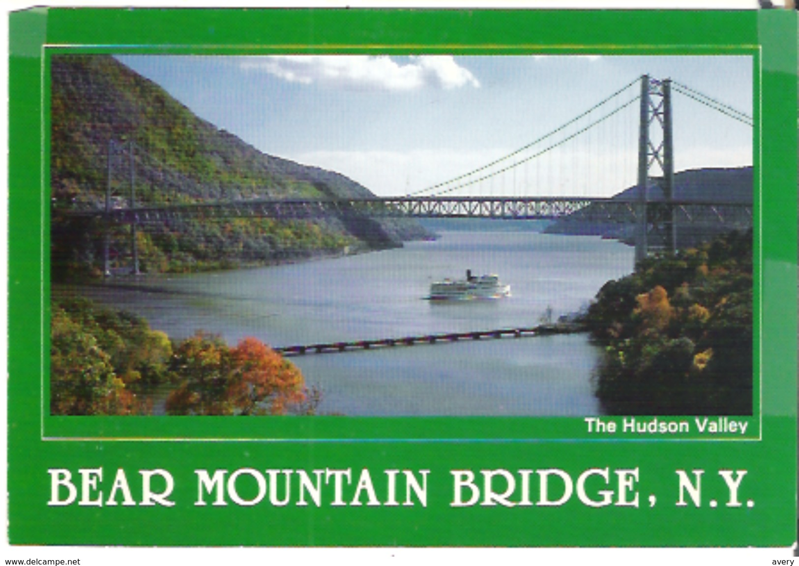 Bear Mountain Bridge, New York, Spanning The Hudson River Between Westchester County & Bear Mountain State Park - NY - New York