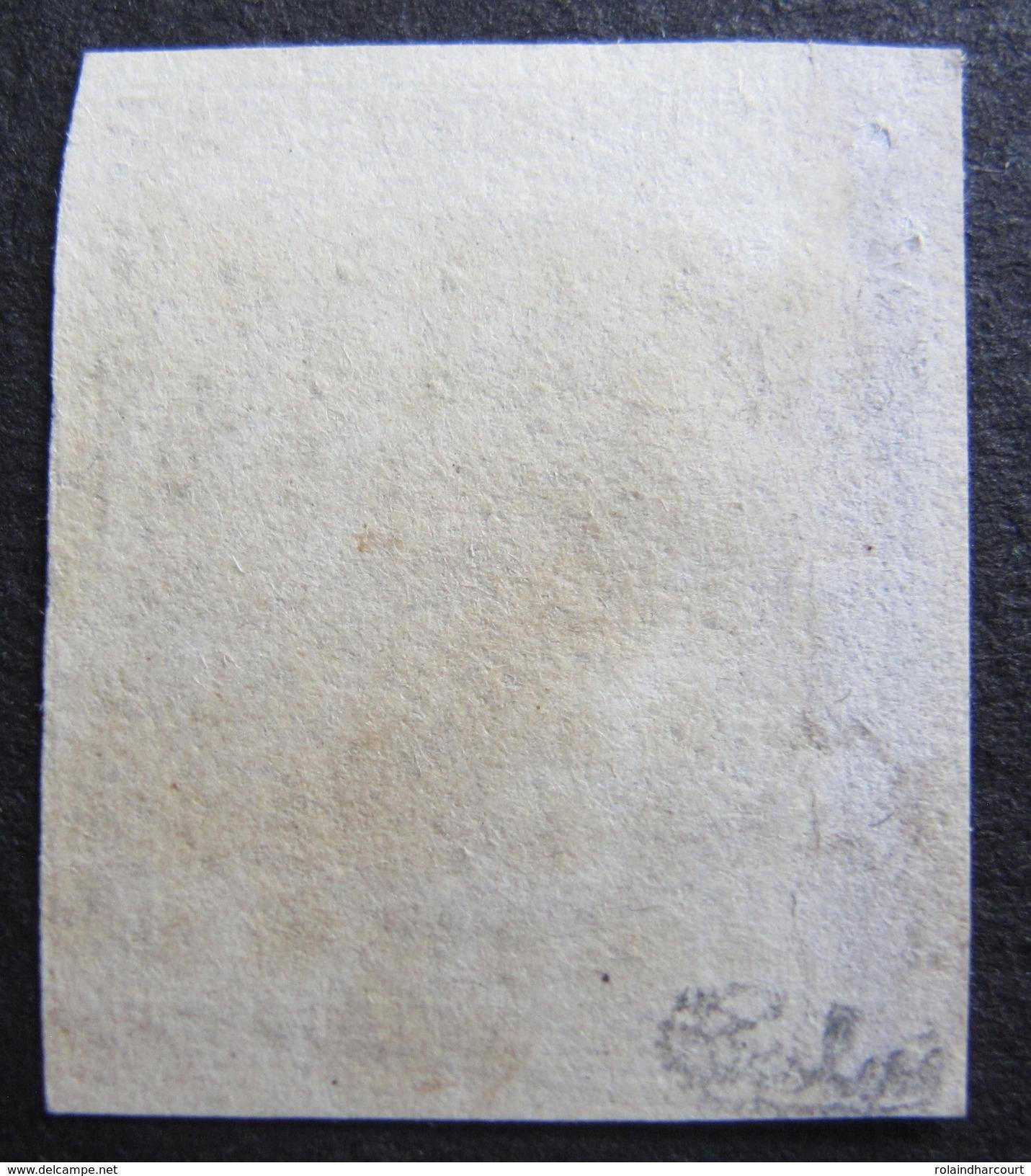 LOT DF/152 - CERES N°1b ☛ Signé + Certificat - PC 2750 ROYAN (Charente Inf) Cote : 500,00 € - 1849-1850 Ceres