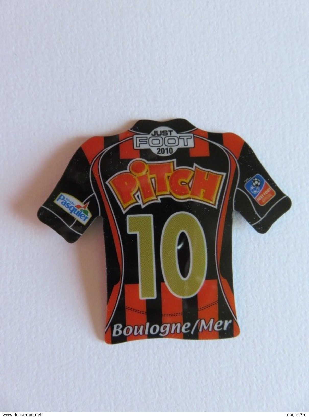 Magnet - Just Foot 2010 - Boulogne/Mer - N° 10 - Pasquier - Sports