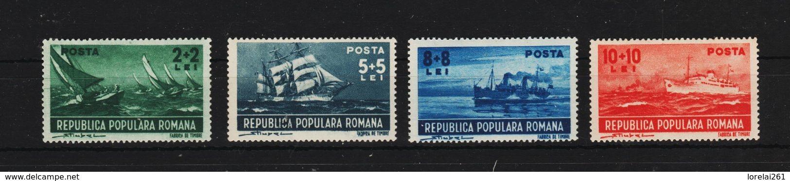 1948 - MARINE  Mi No 1149/1152 Et Yv No 1058/1061  MNH - Ungebraucht