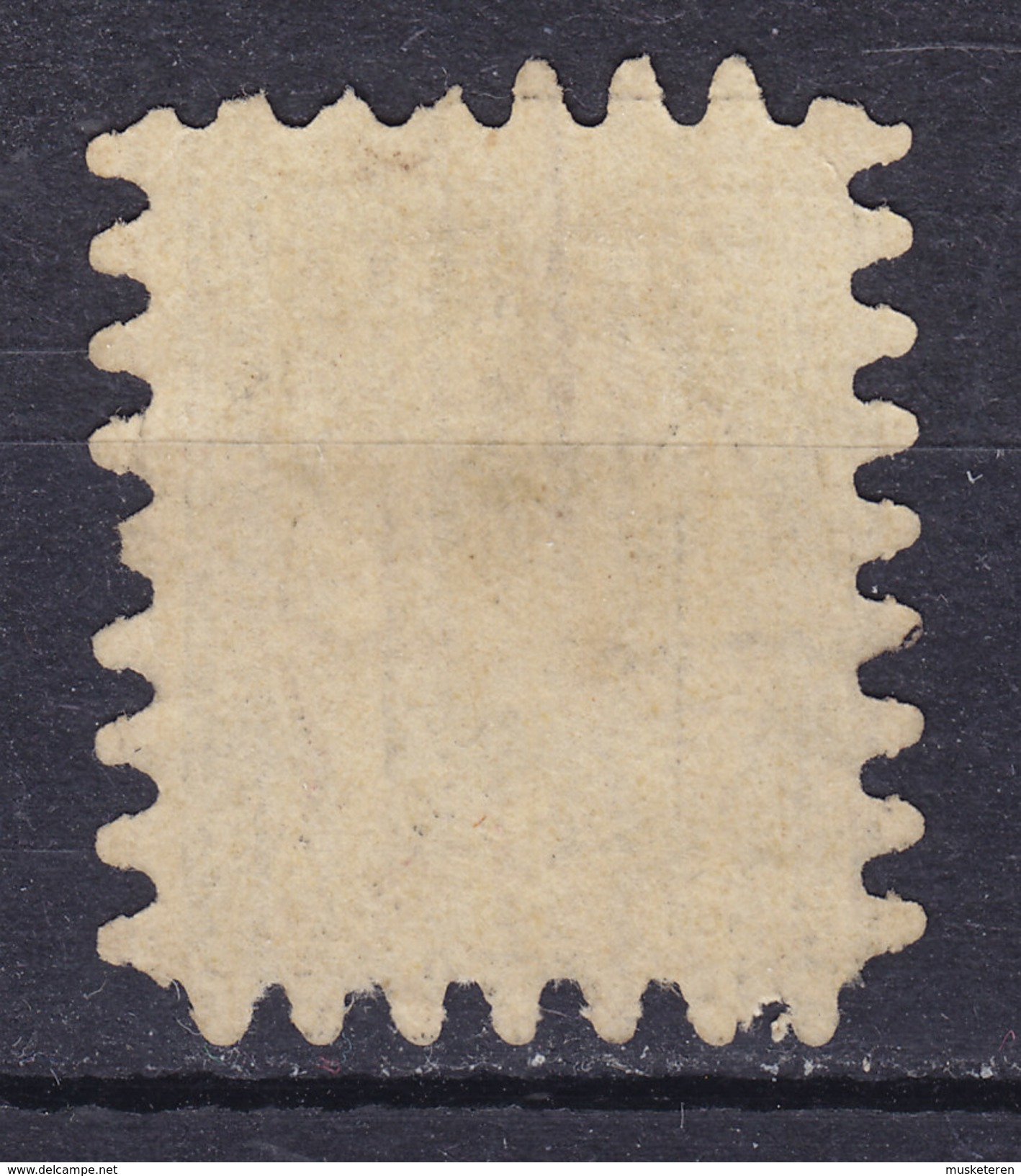 Finland 1866 Afa 7aC 10 Penni Stribet Striped Papir Blækannulering Pen- Ink Cancellation X - 1856-1917 Russian Government