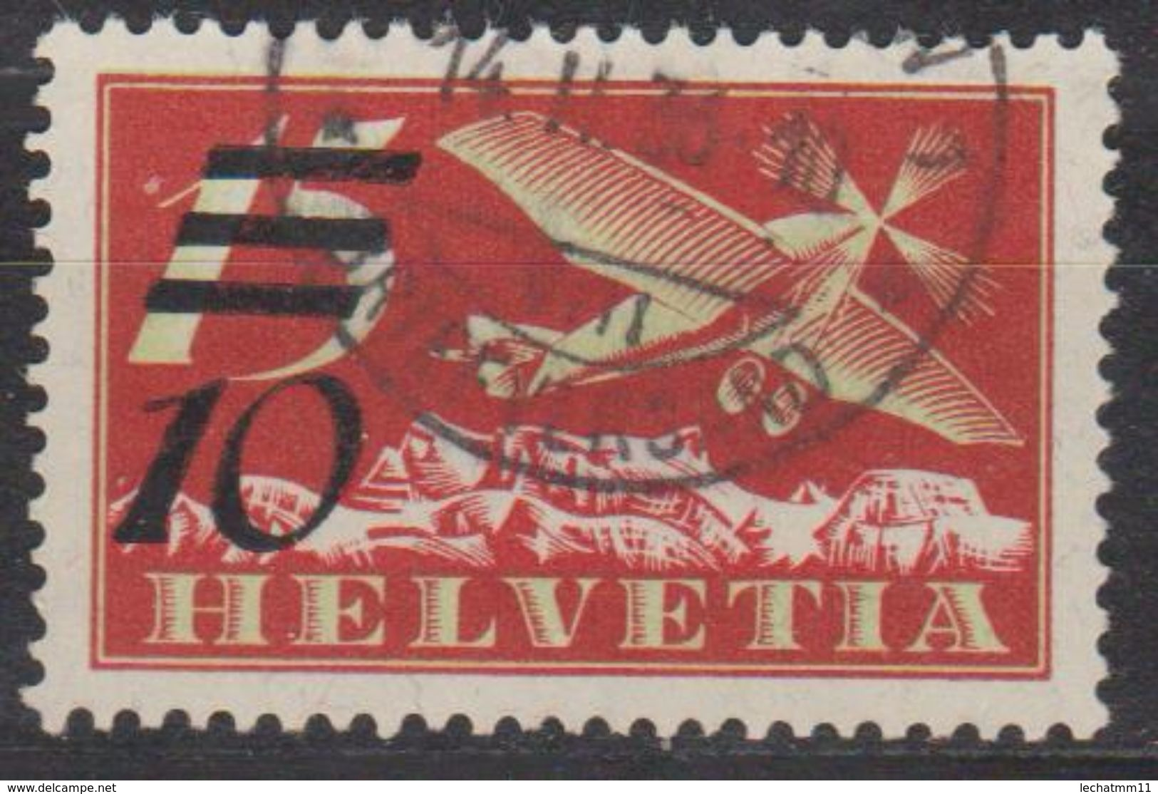 Zu F19a/Mi 285a - Poste Aérienne