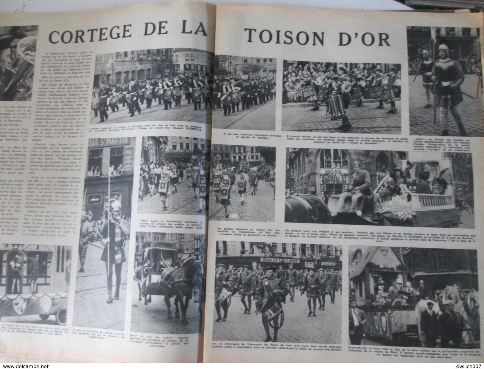 1951  Les Fetes Fastes Album Souvenir  FASTES DE LILLE - Lille