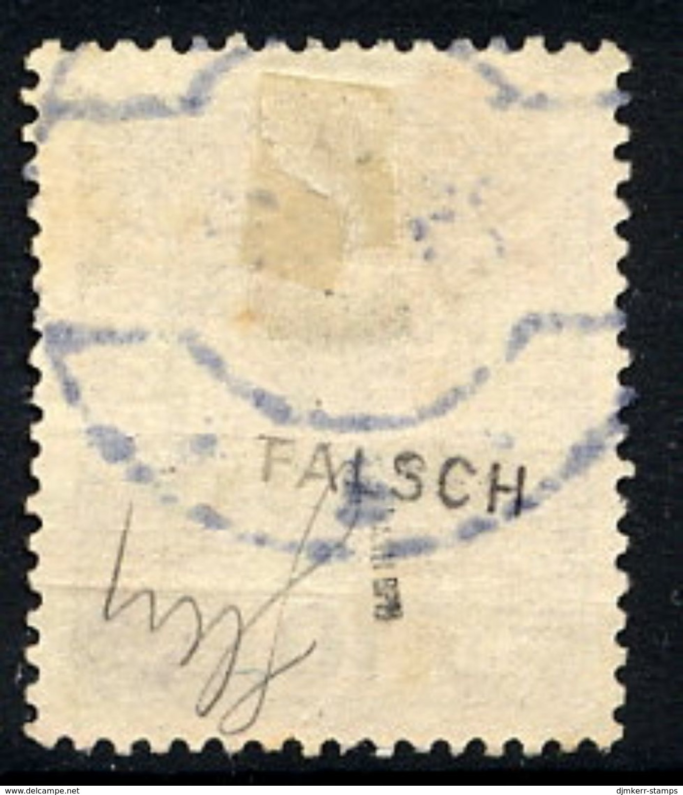POLAND 1919 Krakow Poczta Polska Forged.overprint On 10 H. Arms Used.  Michel  32 - 1919-1939 Republic
