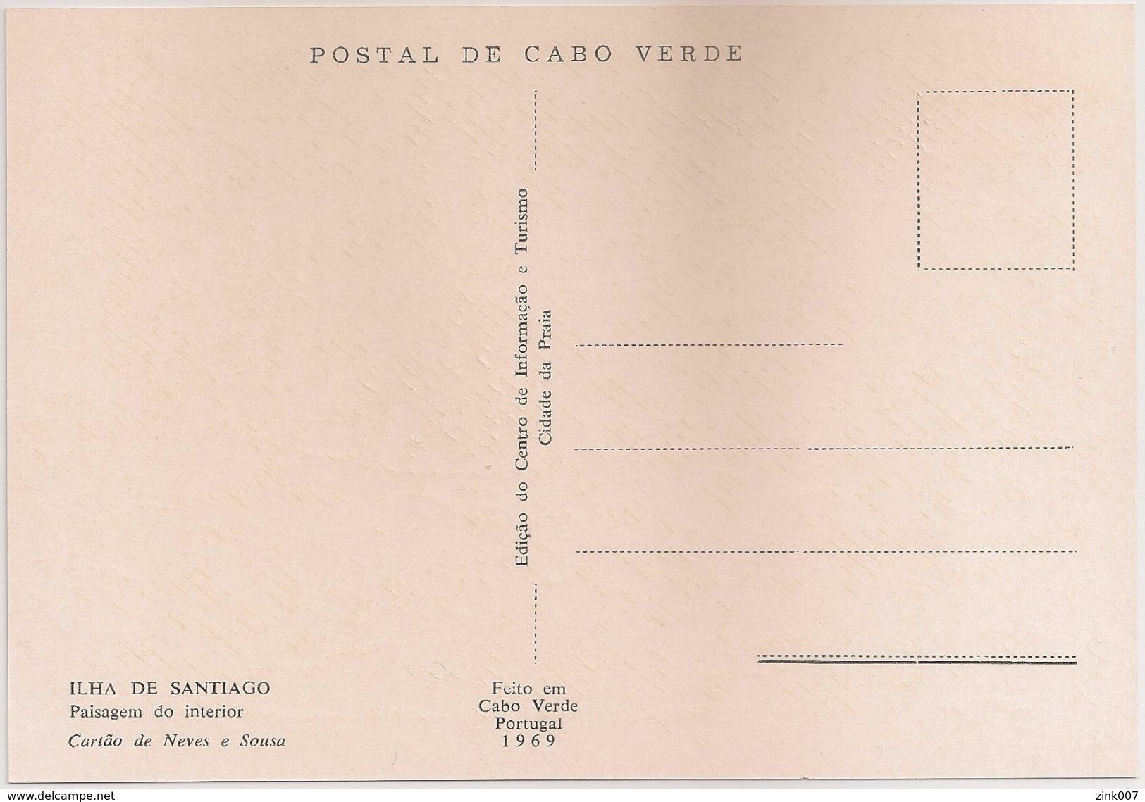 Postal Cabo Verde - Cape Verde - Ilha De Santiago - Paisagem Do Interior - Carte Postale - Postcard - Cap Vert