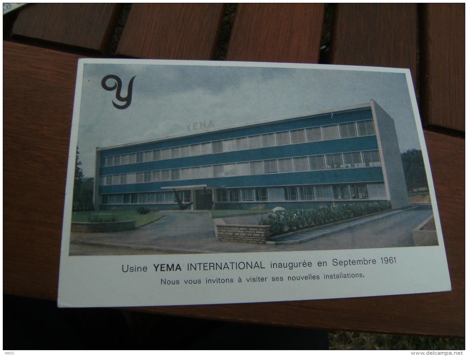 Usine Yema International Inauguree En Septembre 1961 Montre  Besancon - Besancon