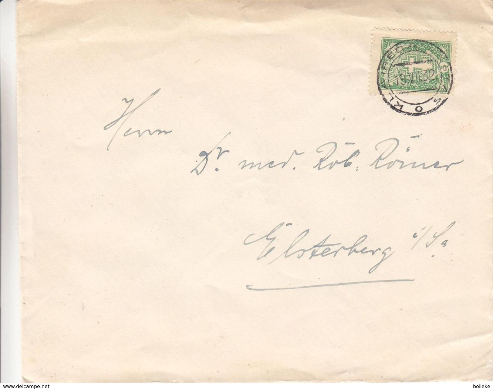 Lituanie - Lettre De 1932 ° - Oblit Klaipeda - Exp Vers Elsterberg En Allemagne - Litauen