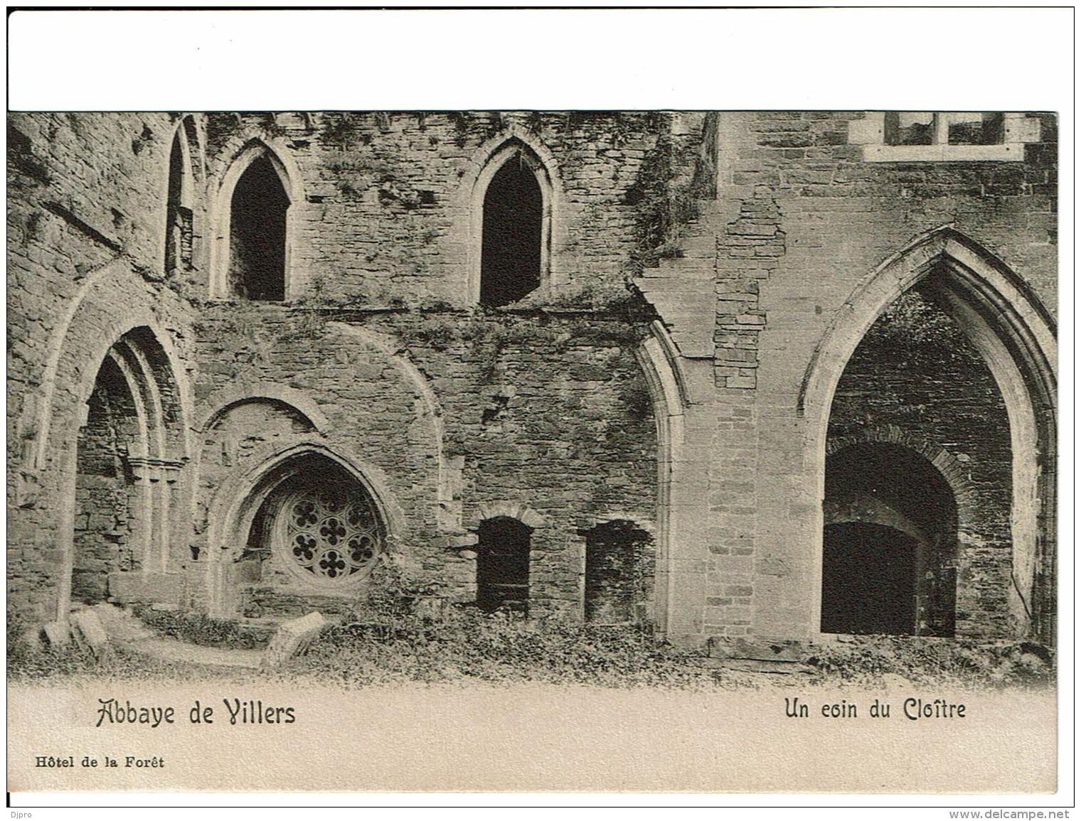 Abbaye De Villers Un Coin Du Cloitre - Villers-la-Ville