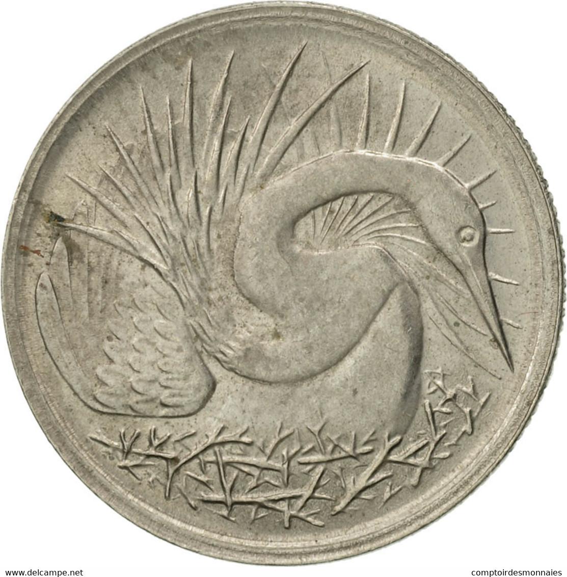Singapour, 5 Cents, 1981, Singapore Mint, SUP, Copper-Nickel Clad Steel, KM:2a - Singapore