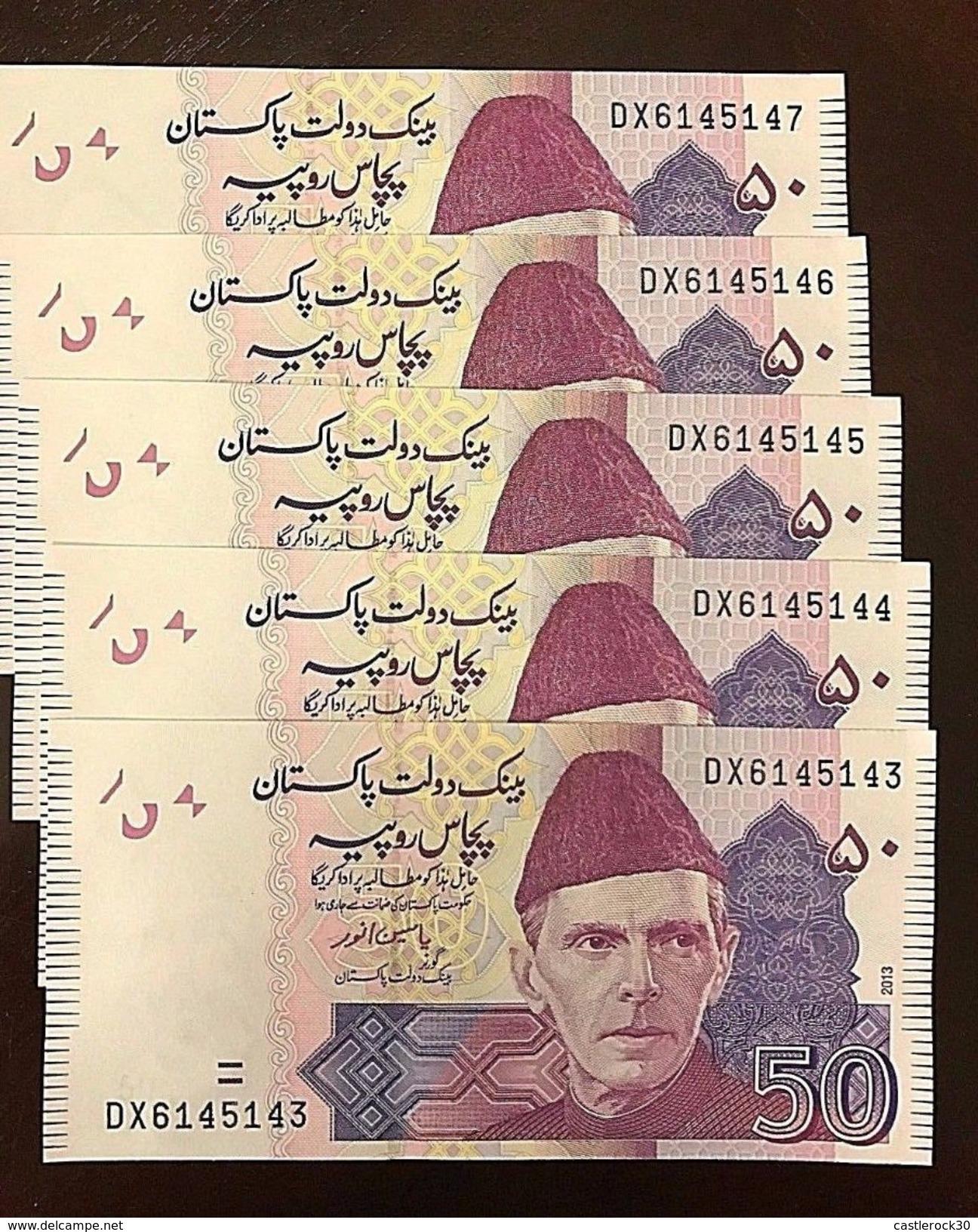 C) PAKISTAN BANK NOTES 50 RUPEES ND 2013 - Pakistan