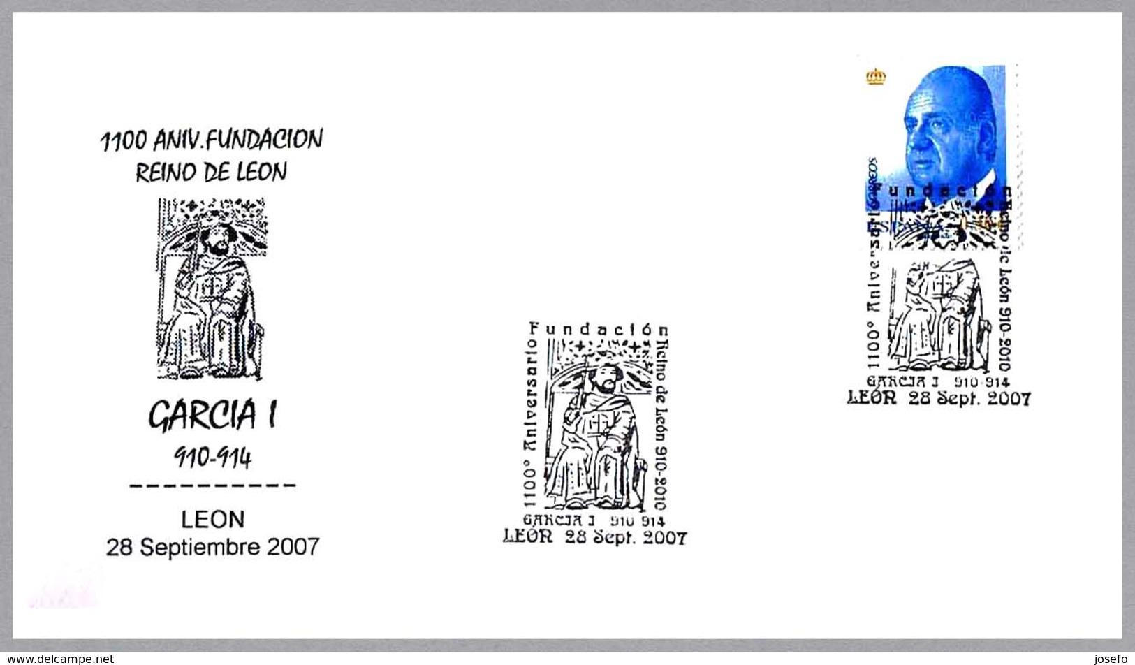 REINO DE LEON - GARCIA I (910-914). Leon 2007 - Historia
