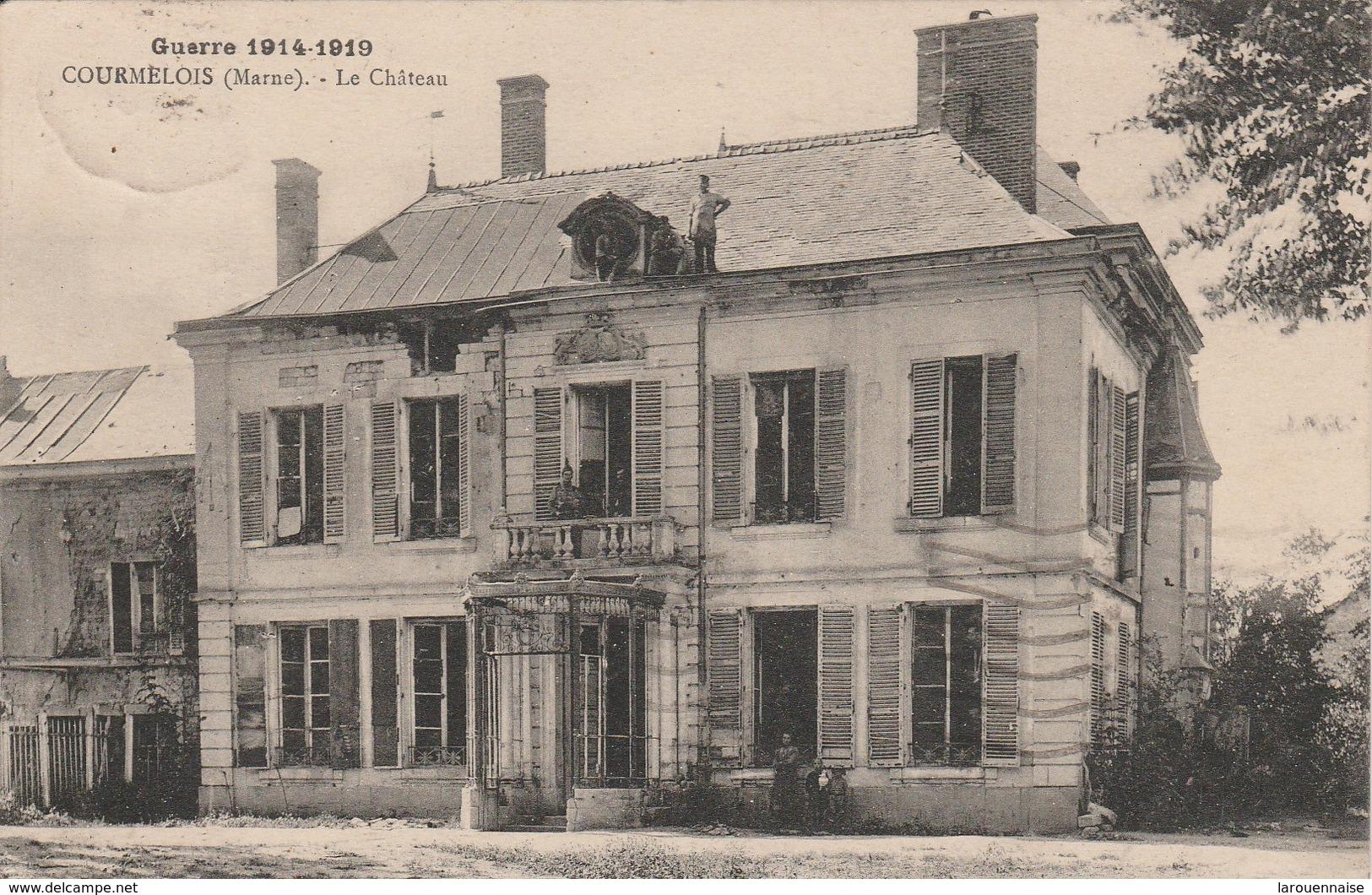 51 - COURMELOIS - Le Château - Autres Communes