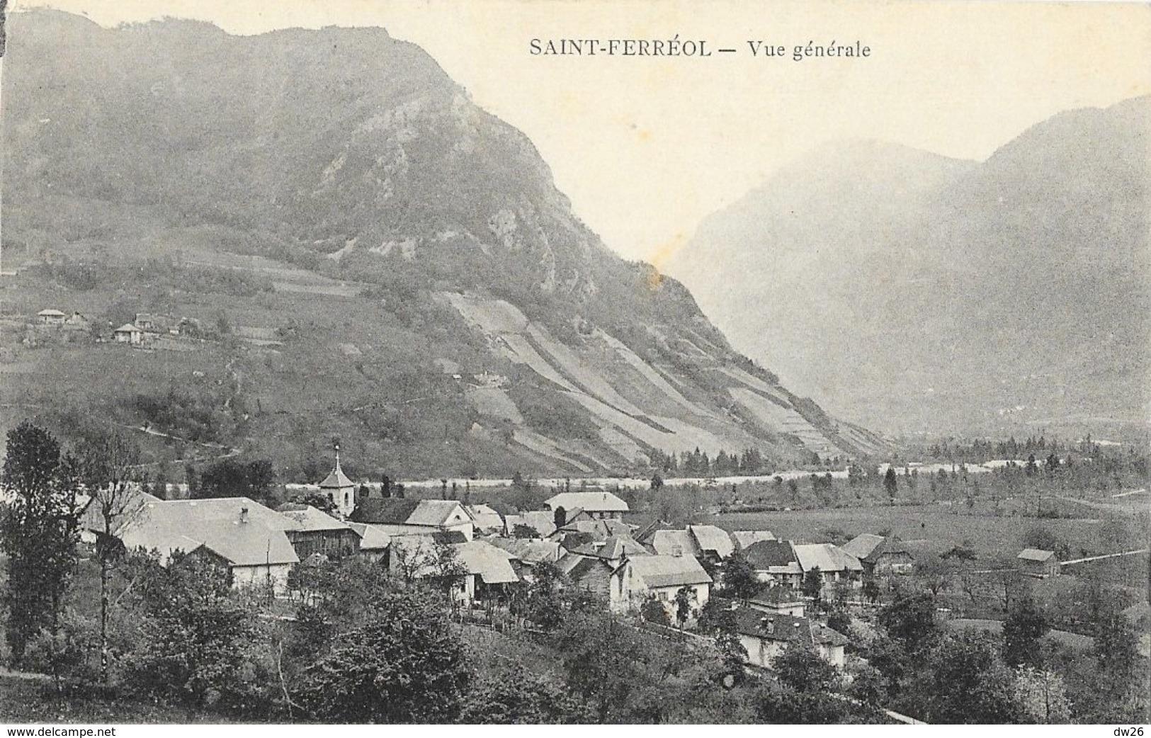 St Saint-Ferréol (Haute-Savoie) - Vue Générale - Francia