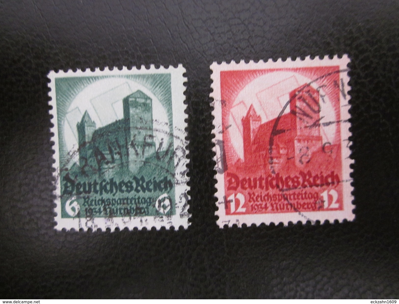 Deutsches Reich Nr. 546 / 547 Gestempelt (B41) 2 - Deutschland