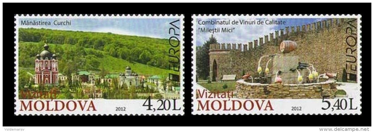 Moldova 2012 Mih. 793/94 Europa-Cept. Visit MNH ** - Moldova