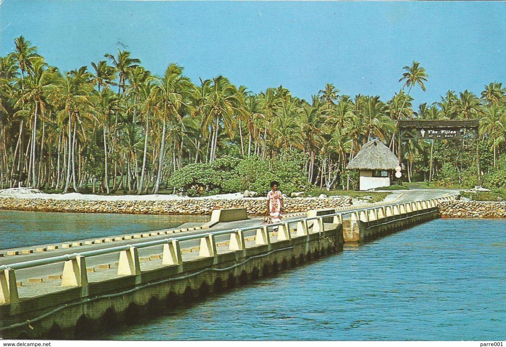 Fiji 1995 Suva Spotted Gecko Reptile Viewcard - Fiji (1970-...)