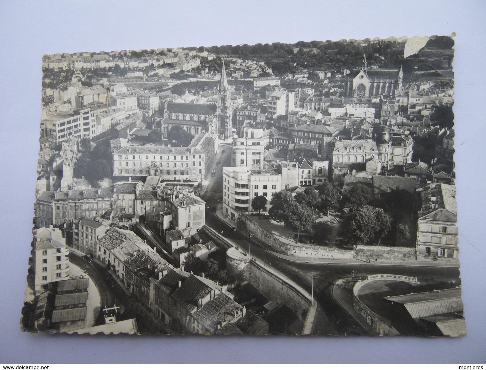 CPSM 16 - CHARENTE - ANGOULÊME L'EGLISE SAINT-MARTIAL - Angouleme