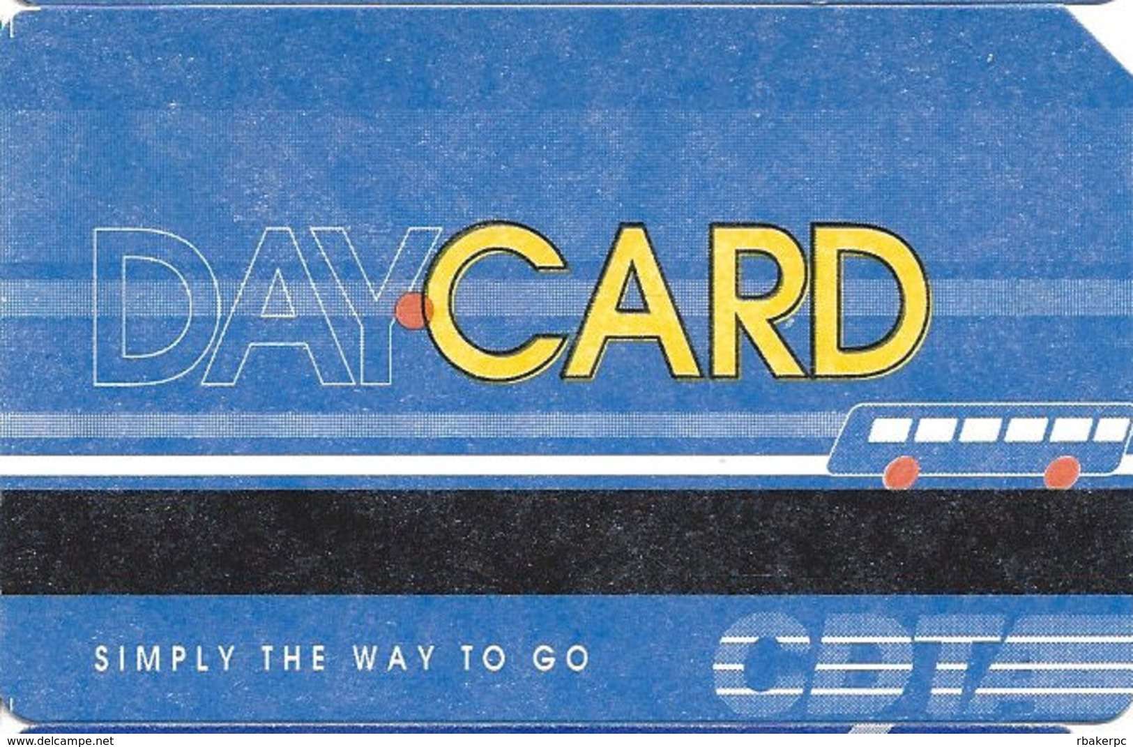 Paper Day CARD Transit Card - Transportation Tickets