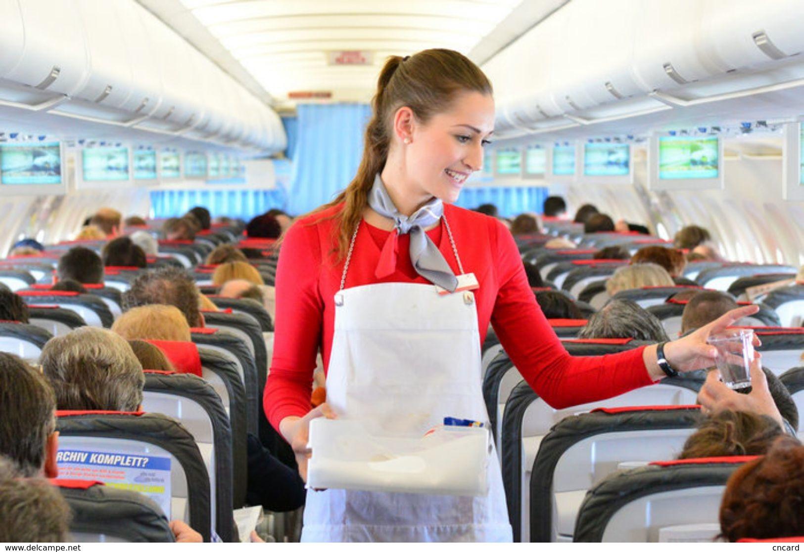 T80-120 ]  Flight Attendants Air Attendants Stewardesses Hostesses Cabin Crew , China Pre-paid Card, Postal Stationery - Jobs