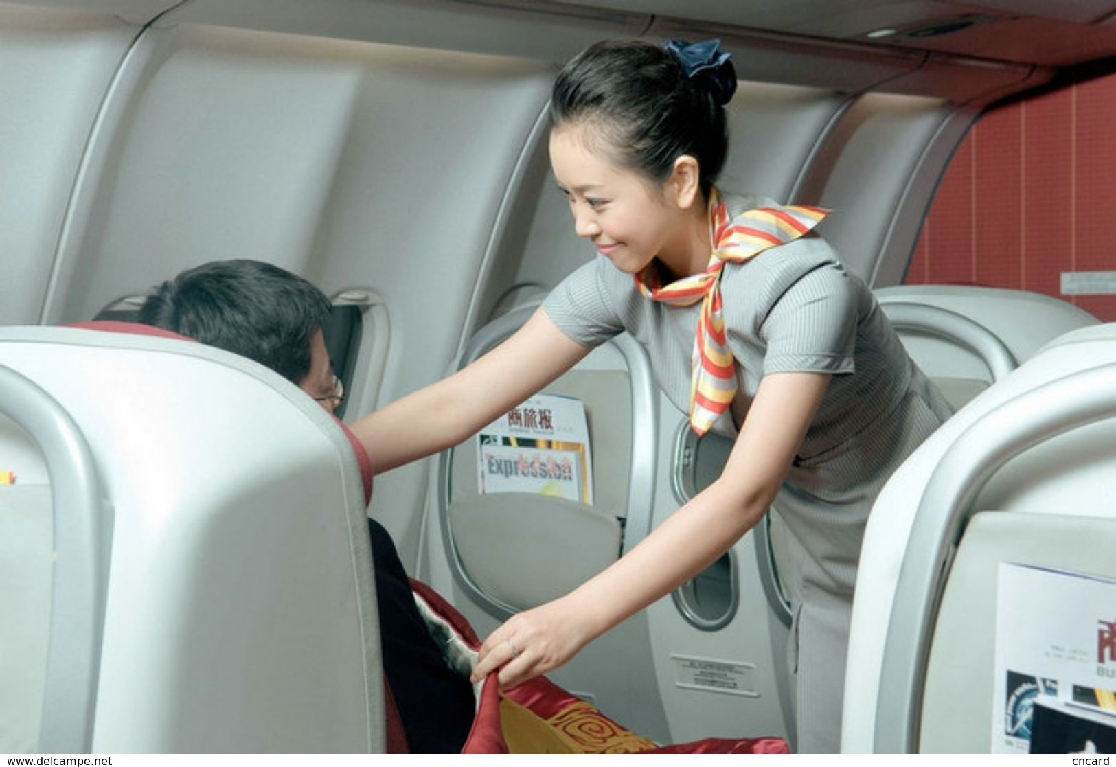 T80-123 ]  Flight Attendants Air Attendants Stewardesses Hostesses Cabin Crew , China Pre-paid Card, Postal Stationery - Other