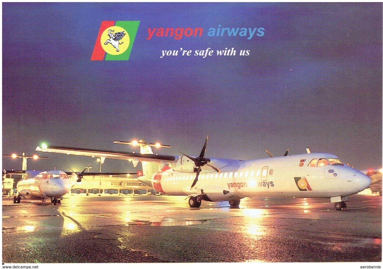 YANGON AIRWAYS (Myanmar) - Aerospatiale ATR-72  (Airline Issue) - 1946-....: Moderne