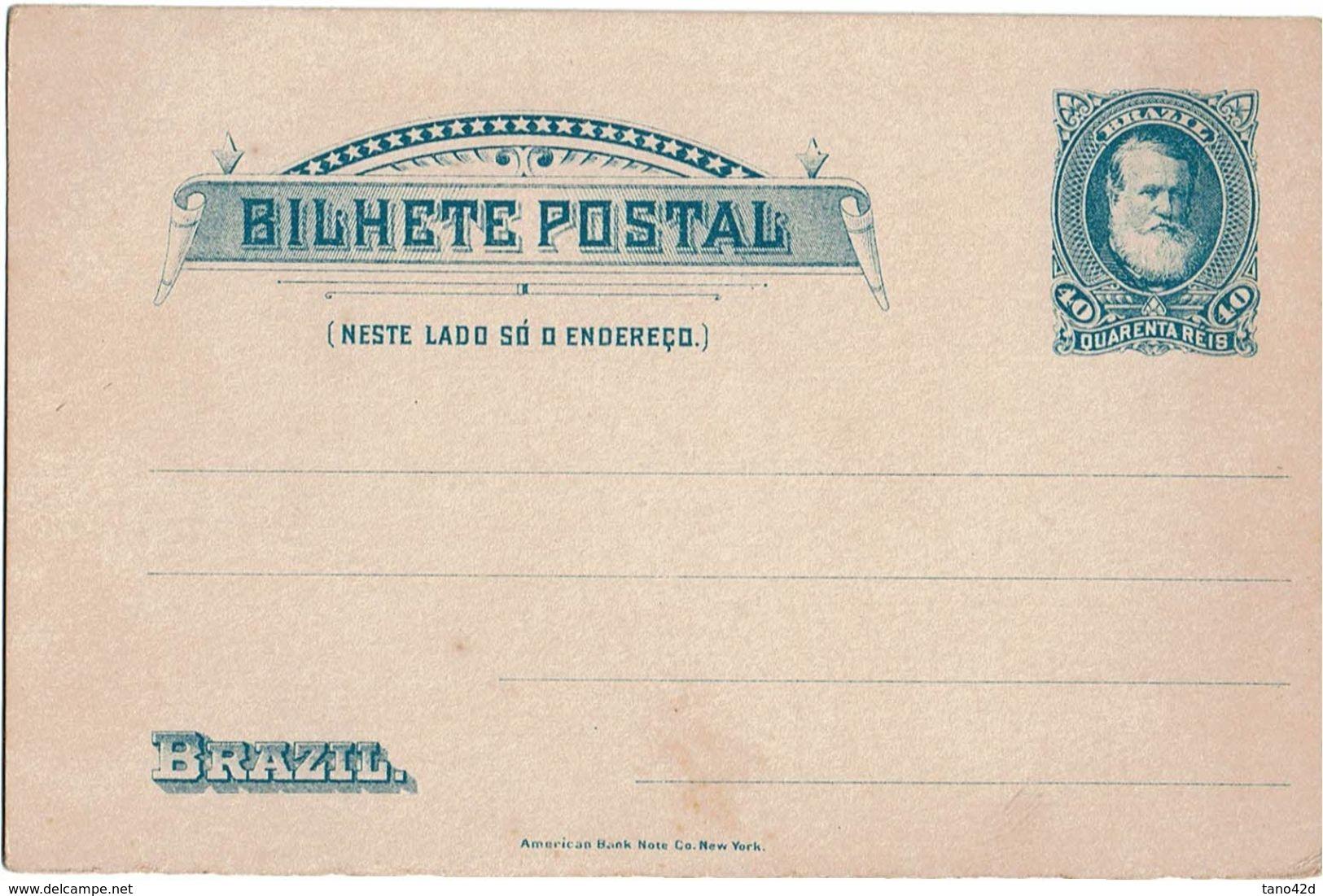 PUY15/1AM - BRESIL CARTE POSTALE  NEUVE - Entiers Postaux
