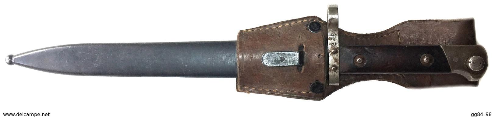 C 03 S -  Baïonnette Modèle 1895 Standard Fabrication WW - Armes Blanches