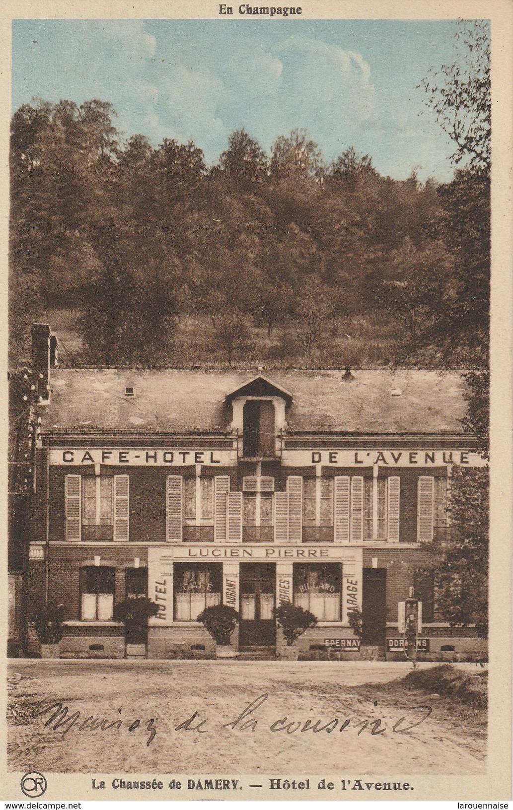 51 - VAUCIENNES - La Chaussée De Damery - Hôtel De L' Avenue - Sonstige Gemeinden