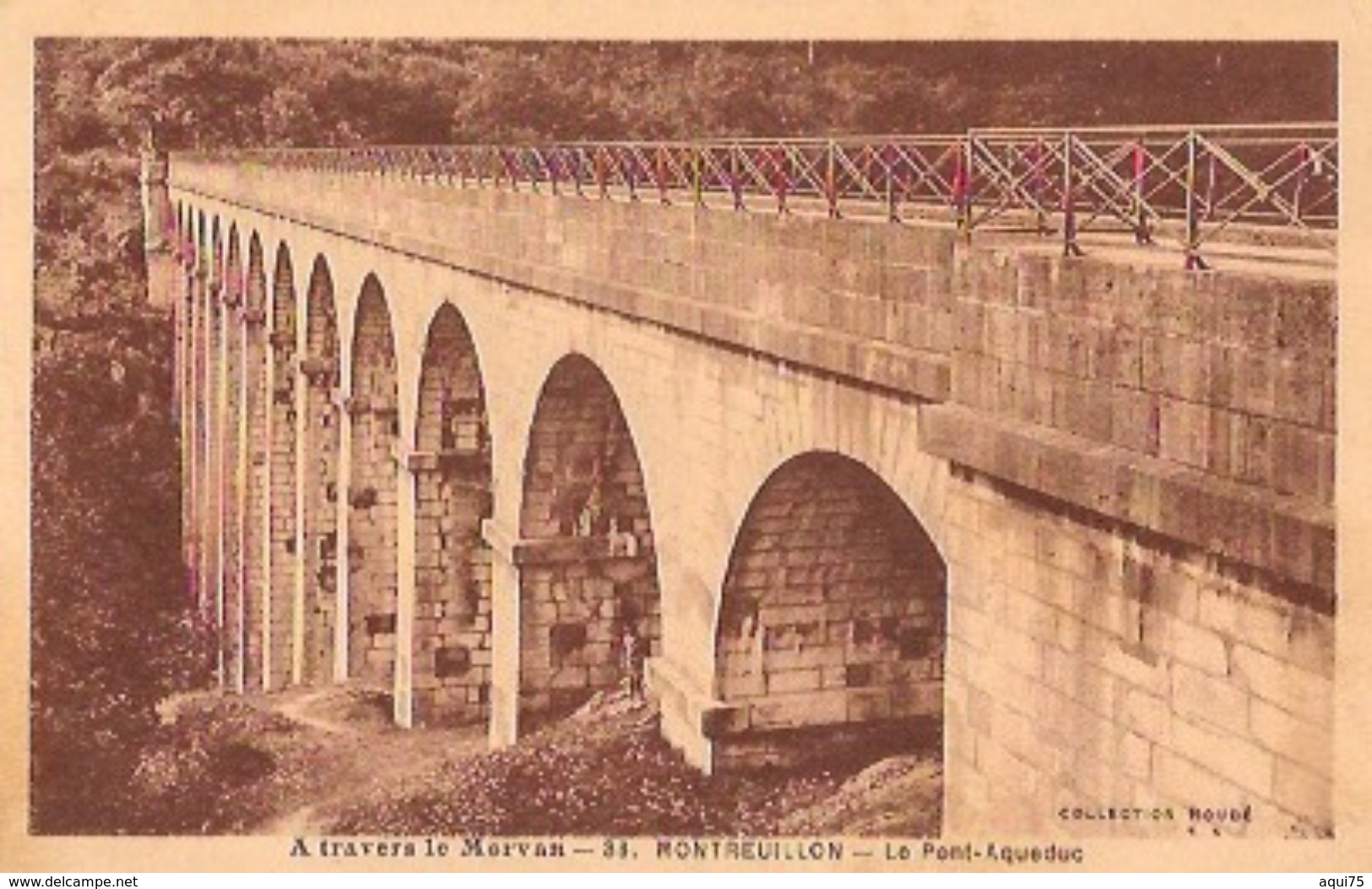 A Travers Le Morvan    MONTREUILLON    Le Pont-Aqueduc - Clamecy