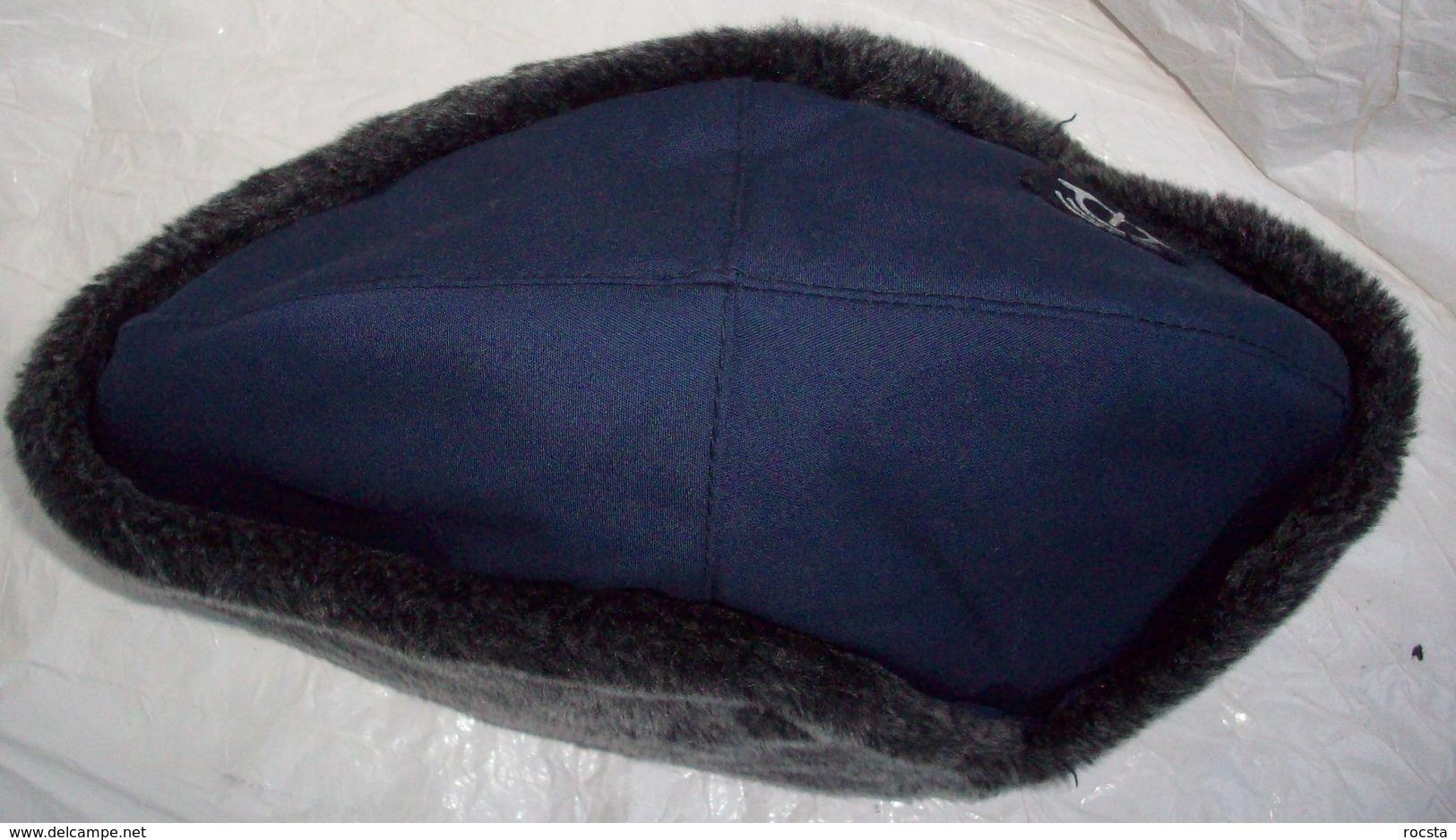 Vintage PTT Uniform Cap With Patch - Netherlands Postal Service - Hoeden