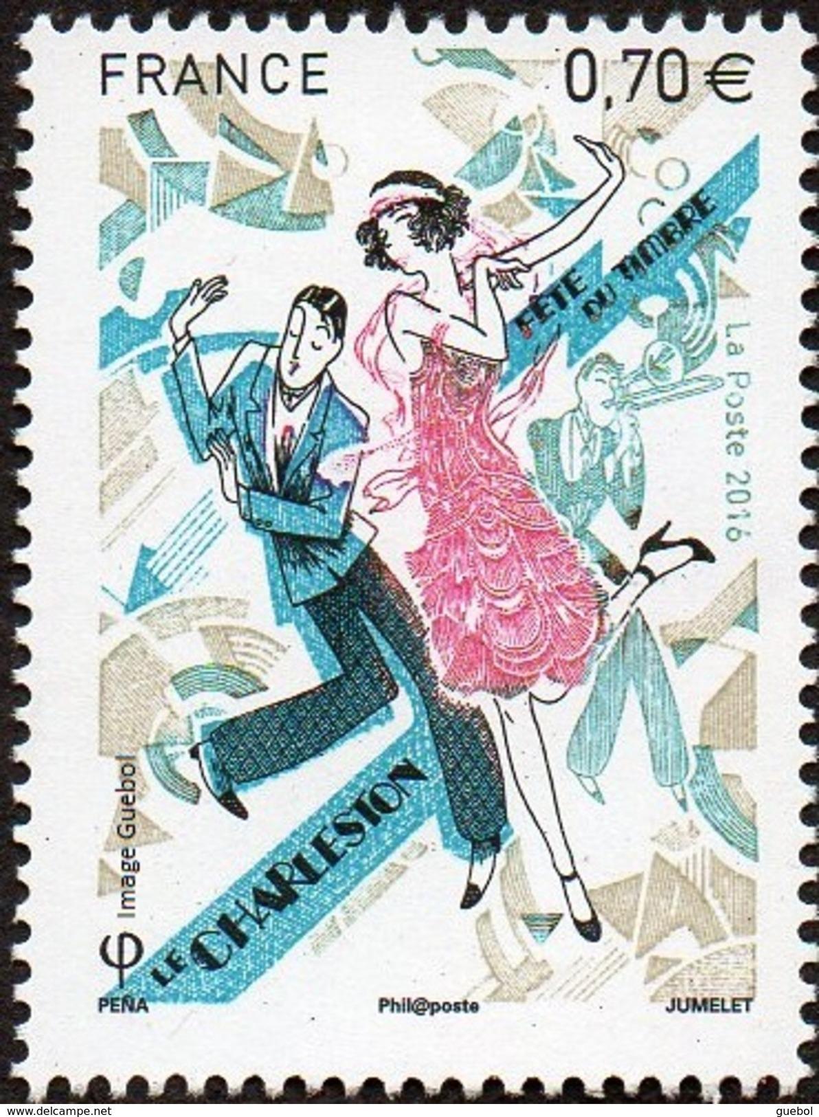 France Philatélie N° 5083 ** Fête Du Timbre, La Danse Du Charleston - Tag Der Briefmarke