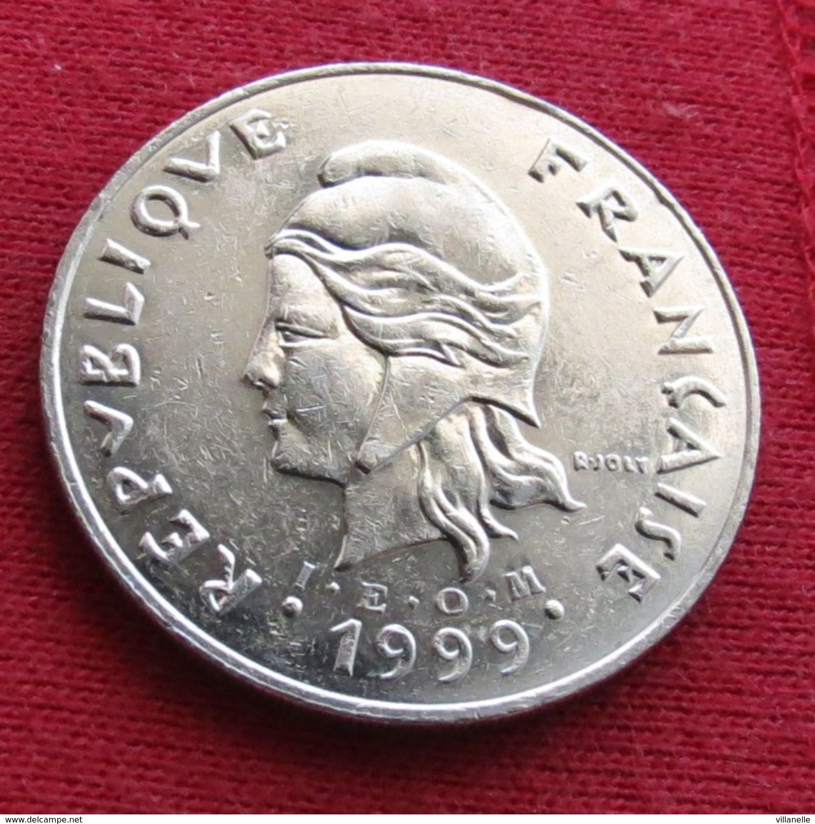 French Polynesia 50 Francs 1999 KM# 13 Polynesie Polinesia - Polynésie Française