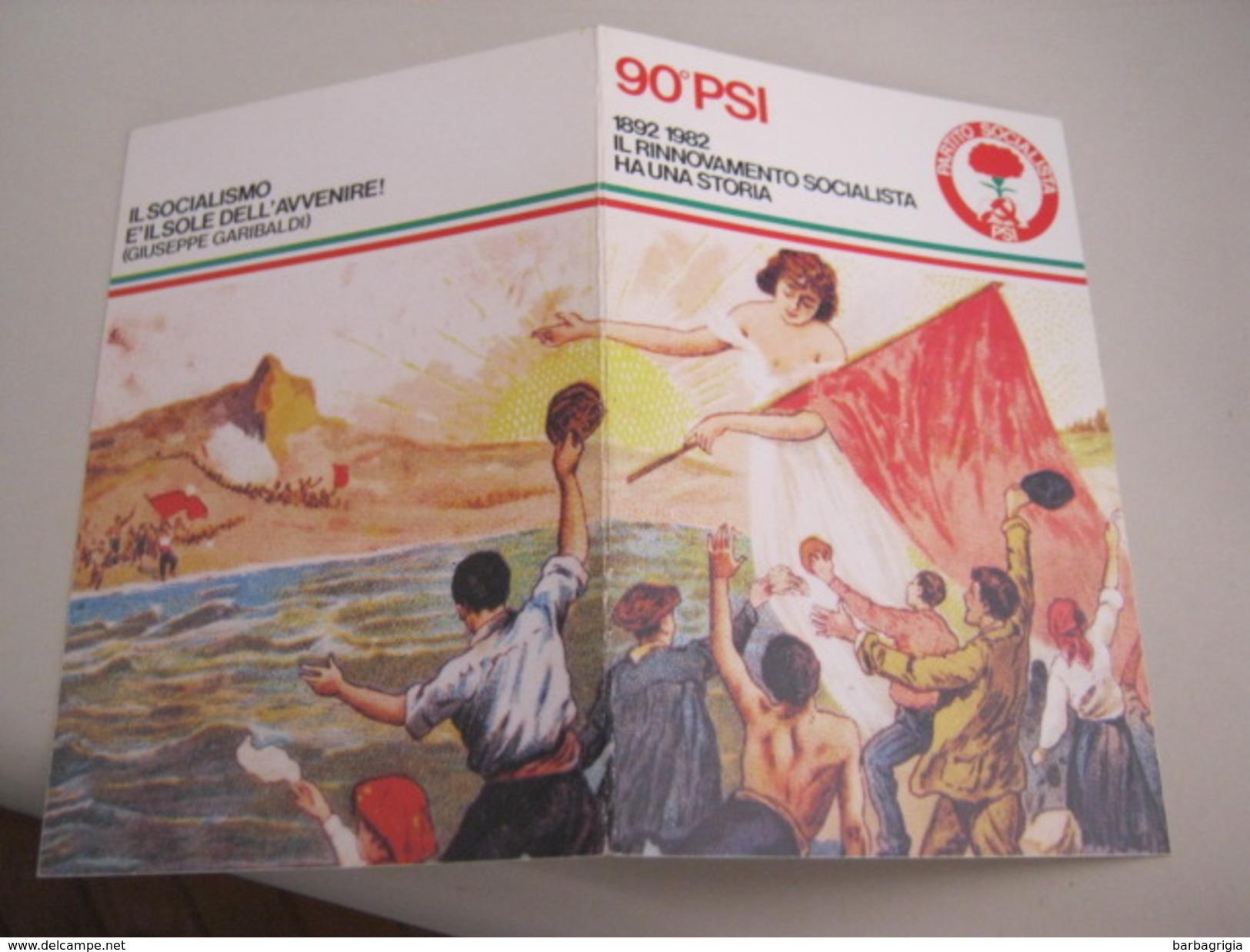 TESSERA PARTITO SOCIALISTA ITALIANO 1982 - Documenti Storici